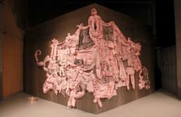 Try to fold space into corner - Helena Laukkanen